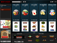 Bovada Screenshot Casino